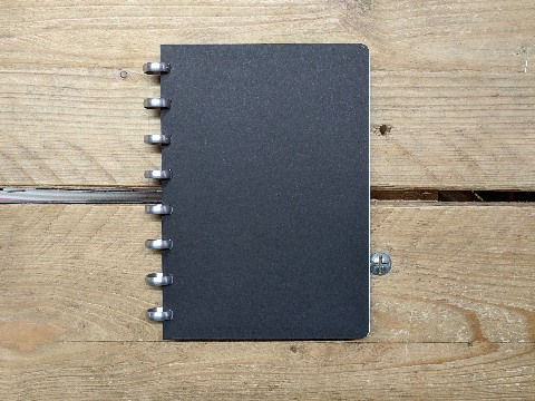 Design and proof your personalised Notebooks A5 Disc Bound Notebooks