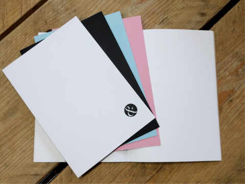 Design and proof your personalised Notebooks A5 Journal Inserts