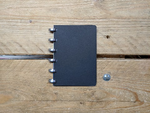 Design and proof your personalised Notebooks A6 Disc Bound Notebooks
