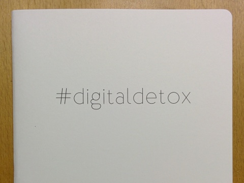 Design and proof your personalised Stationery Digital Detox Notebooks