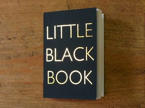 Design and proof your personalised Stationery Little Black Books