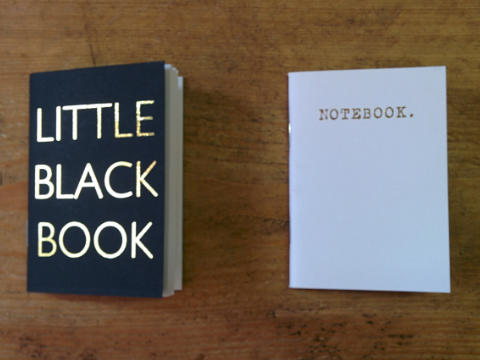 Design and proof your personalised Notebooks Mini Notebooks