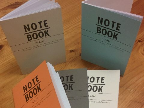 Design and proof your personalised Notebooks A6 Notebooks