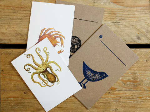Design and proof your personalised Stationery Supplies Notelets and Postcards