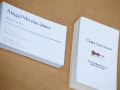 Design and proof your personalised Social Stationery Visiting Cards